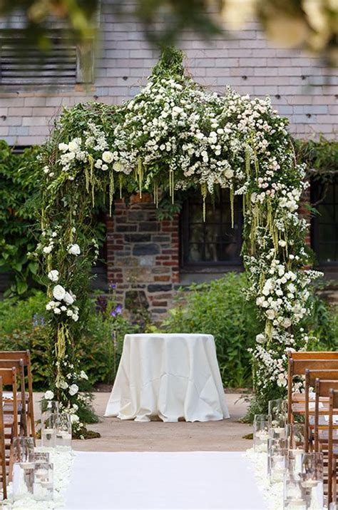 Altar Wedding Decorations Chuppas Flowers Inspiration