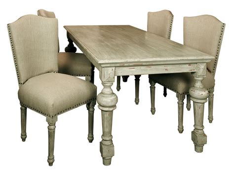 distressed table and chairs marceladick