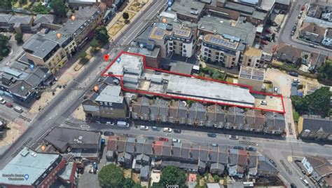 flats planned catford poundland murky depths