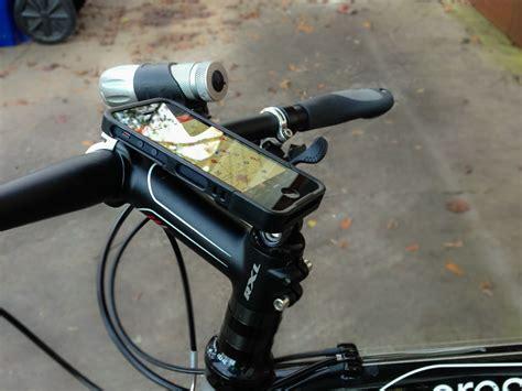 iphone holder for bike look rockform iphone 5 and bike mount bike198