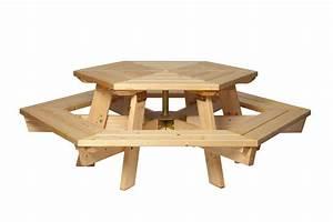 Table Exterieur En Bois : table bois exterieur ~ Teatrodelosmanantiales.com Idées de Décoration