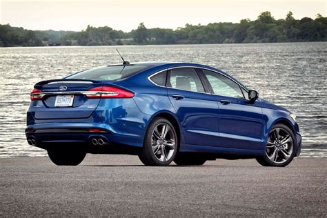 2017 Fusion Sport by 2017 Ford Fusion V 6 Sport Drive Motor Trend