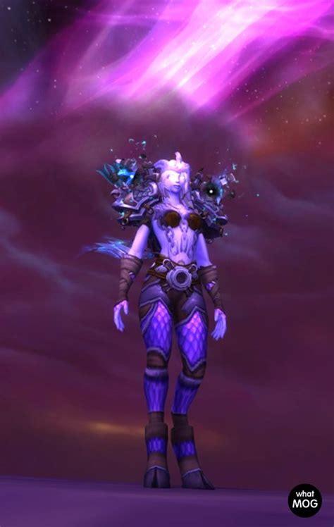 transmog armor hunter wow nether demon warcraft plate 5e hunters visit worldofwarcraft raid