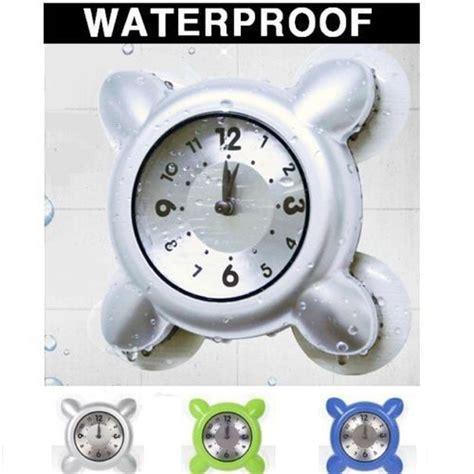 I Watched My Shower - waterproof wall shower clock bath digital bathroom