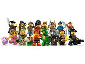 lego minifigures mystery pack series 5