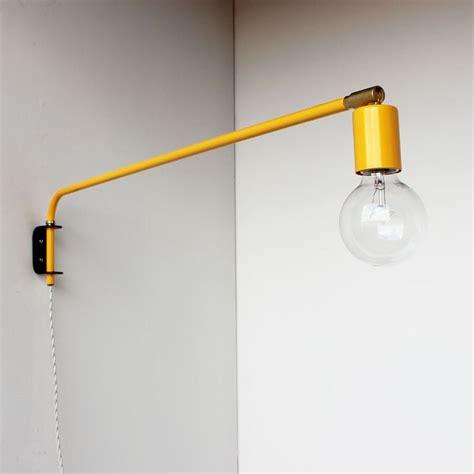 lamps brass swing arm wall lamp bronze wall lights