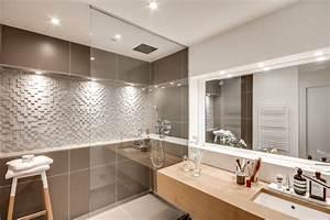 Salle De Bain Idée Déco : 10 id es pour salles de bain moderne ~ Dailycaller-alerts.com Idées de Décoration