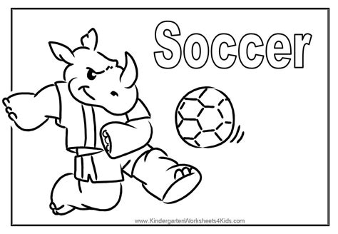 Sport Coloring Pages