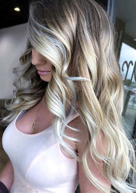 gorgeous bright blonde hair color trends