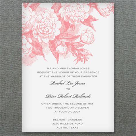 rose scrolls invitation template  print
