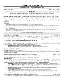 it recruiter resume format resume exle 57 recruiter resume sle sle resume for freelance recruiter pic sle