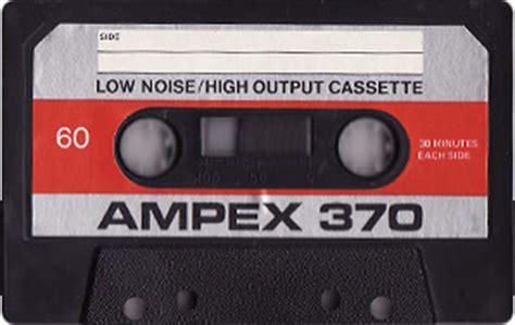 Project C-90 | Catalogue | Compact cassettes | Ampex ...