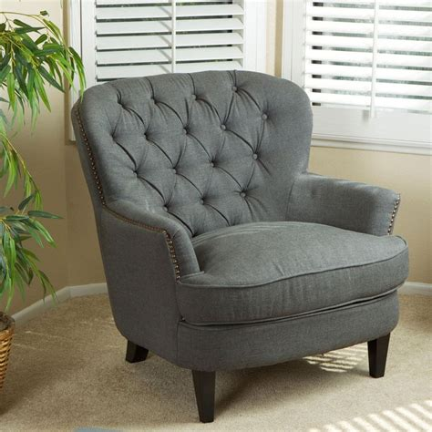 tafton tufted oversized fabric club chair by christopher