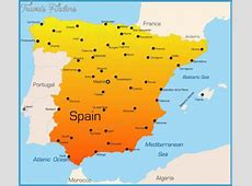 Maps Update #800650 Spain Tourist Attractions Map