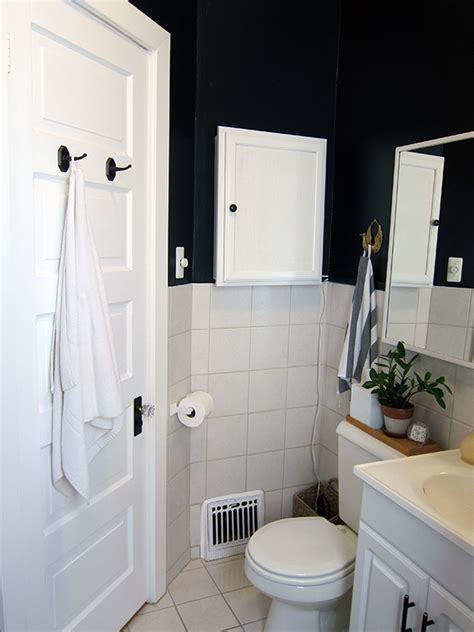 Rental Bathroom Makeover Before, During, After Project