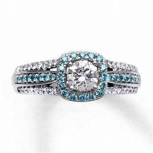 light blue diamond engagement rings wedding and bridal With wedding rings with blue