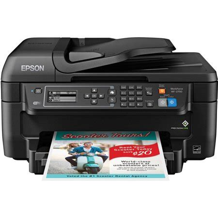 color printer walmart epson workforce wf 2750 all in one wireless color printer