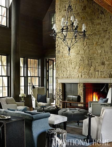 Gracious Lakeside Home by Gracious Lakeside Home In 2019 Magnificent Mantels