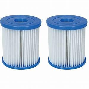 Filtre Piscine Bestway Type 2 : 2 cartouches de filtration piscine de type i bestway ebay ~ Dailycaller-alerts.com Idées de Décoration