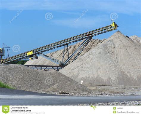 Cava Di Ghiaia - cava di ghiaia immagine stock libera da diritti immagine