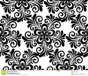 flower pattern black and white - Google Search | Patterns ...