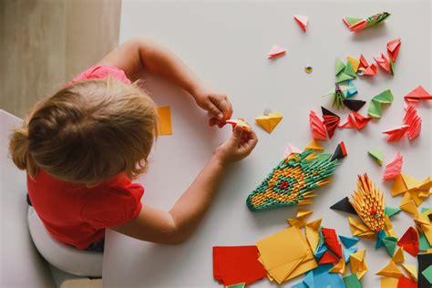 Iniciar a los niños en el origami