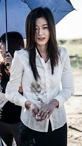 """ยัยตัวร้าย """"จอนจีฮยอน"""" (Jun Ji Hyun) ได้รับบาดเจ็บขณะถ่าย ..."""