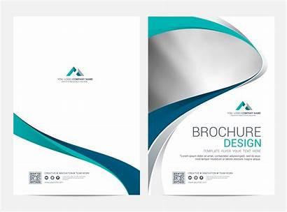 Brochure Template Background Flyer Layout Vector Leaflet