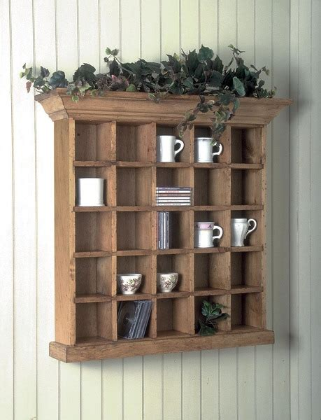 southern pine curio wall cabinet american country