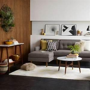 la table basse scandinave simplicite et beau style With tapis de yoga avec beau canapé d angle pas cher
