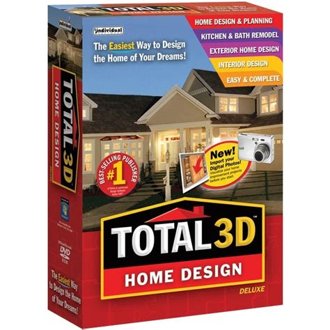 total  home design deluxe pc software brickseek