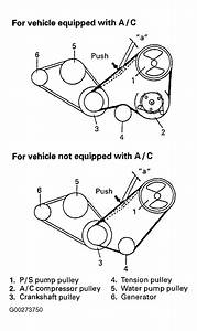 2002 Suzuki Vitara Serpentine Belt Routing And Timing Belt