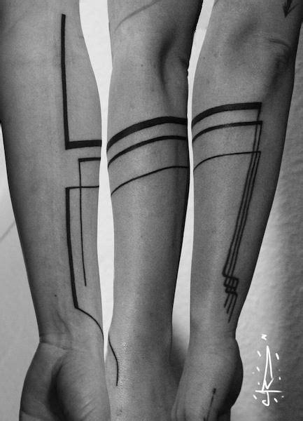 on arm by Jorge Ramirez, Berlin, Germany | geometrical tattoos | Tattoos for guys, Geometric