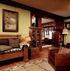 craftsman homes interiors interior bungalow living room dining roomjpg 55ba1c620d606206 cozy craftsman style interior