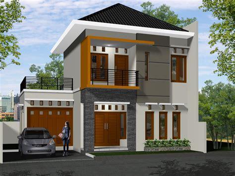 warna cat model rumah terbaru ask home design