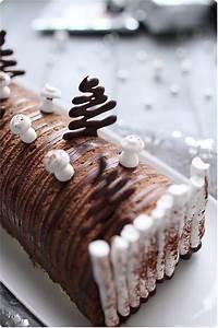 Decoration Buche De Noel Comestible : b che chocolat noir et coeur de cr me br l e recept ~ Melissatoandfro.com Idées de Décoration