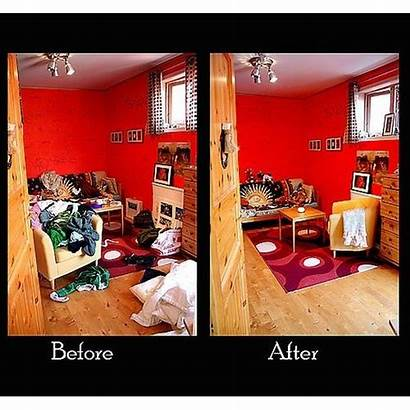 Clean Before Clutter Cleaning Tidy Declutter Organizing