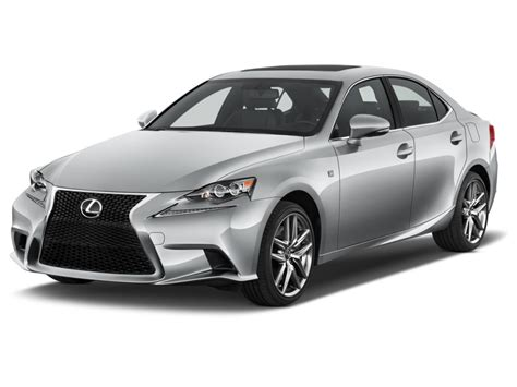 sporty lexus 4 door image 2016 lexus is 350 4 door sedan rwd angular front