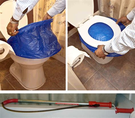 how to fix a clogged toilet without a plunger help save yourself