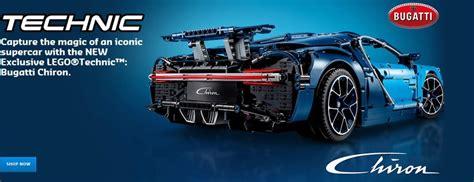 New Lego Technic 42083 Bugatti Chiron