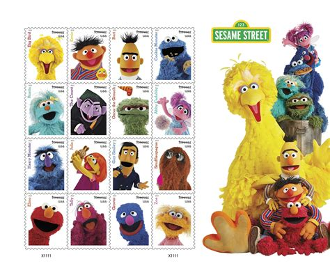 sesame street  stamps    purchase