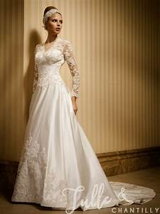 morning classic a line vintage wedding dress with sleeves With vintage wedding dresses with sleeves