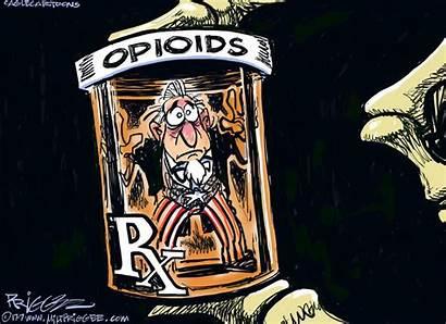 Opioid Abuse Crisis Cartoon Editorial Priggee Milt