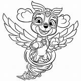 Mighty Pups Paw Patrol Coloring Skye Pages Tornado Super Kleurplaat Everest Coloriage Printable Imprimer Dessin Puppy Cute Patrouille Pat Downloaden sketch template