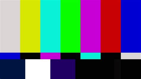 FULL HD COLOR BAR TYPE SMPTE WITH 1kHz TONE - YouTube