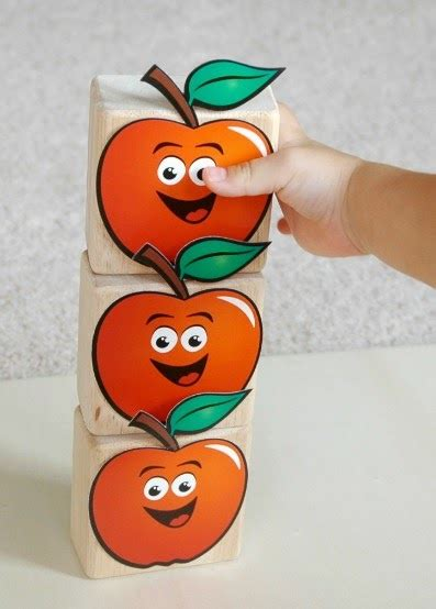 ten apples   top counting  stacking