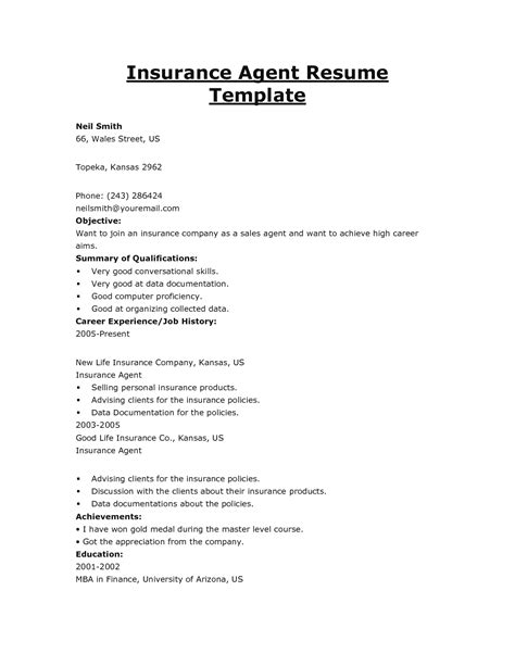 resume objective statement for engineering internship 2016 insurance broker resume objective sles recentresumes com