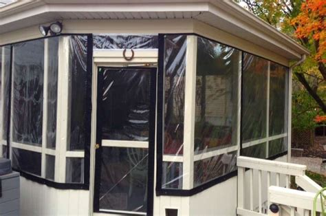 Screened Porch Vinyl Curtains Navy Blue Shower Curtain Liner In The Black Room With White Curtains Lyrics Cocoa Flower Taffeta Silk Brown And Cream Striped Overture Lights 60 Long