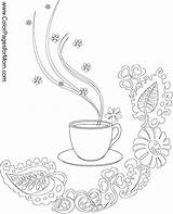 Coloring Coffee Cup Adult Printable Adults Tea Wine Colorpagesformom Colouring Bean Doodle Cups Template Getcolorings Sheets Omeletozeu Getdrawings Coloringpages Embroidery sketch template