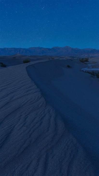 Desert Dunes Night Sand Sky Starry Wallpapers